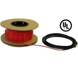 Heattech 65 135 Sqft Electric Radiant In floor Heating Cable System 120v
