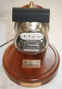 Westinghouse Electric Watt Hour Meter Lamp Circa 1920