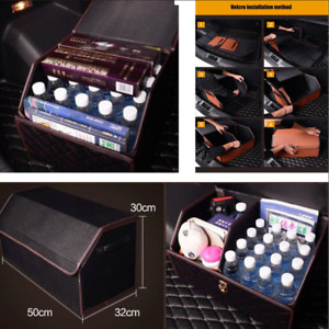 Universal Car Vehicle Trunk Organizer Tidying Folding Box 50x32x30cm Storage Box