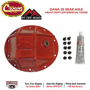 Rt20025 Crown Automotive Rt Off road Differential Cover For Jeeps W Dana 35