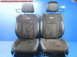 2015 2017 Dodge Challenger R t Rt Perforated Sued Bucket Seats Heated Oem