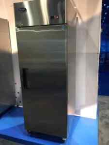 One 1 Door Cooler Refrigerator 23c Large Stainless Reach In Free Ship W Liftgate