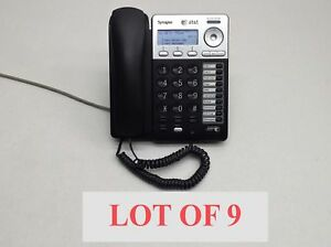 Lot 9 At t Synapse Sb67025 Voip Business Office Deskset Speakerphone Blk Phone