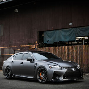 19 Stance Sf07 Forged Gunmetal Concave Wheels Rims Fits Lexus Isf