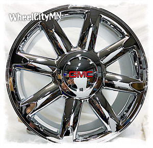 20 Inch Chrome 2008 2009 2010 Gmc Yukon Denali Oe Replica Wheels 5304 6x5 5 31