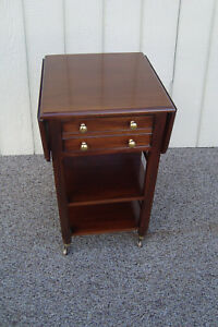 59363 Solid Mahogany Tradition House Nightstand End Table Stand