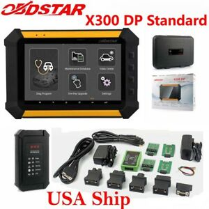 Usa Ship Obdstar X300 Dp Standard Package Immobilizer Eeprom pic Adapter Obdii