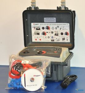 New Megger Mit515 5kv Insulation Tester Nist Calibrated With Warranty