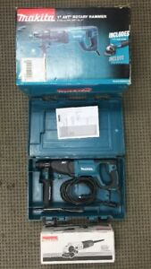 Makita Hr2641x1 Sds Plus 1 Avt Corded Rotary Hammer W 4 1 2 Angle Grinder