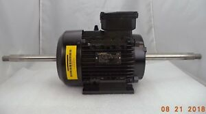 230 400v 3 hp Asynchronous 90l frame Ip55 3 phase Double shaft Motor P n 932964