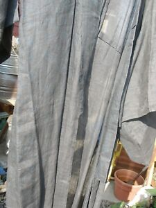 Hemp Or Linen Indigo Dyed Kimono Early 1900 S See Description