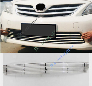 For Toyota Corolla 2010 13 Chrome Abs Oem Front Bumper Lower Grille O Grill