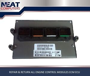 Chrysler Repair Return Ecm Ecu Pcm Pcu Ecu Engine Computer Chrysler Repair