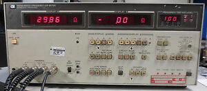 Hp Agilent 4274a Multi frequency Lcr Meter