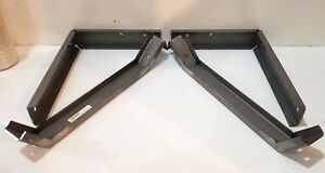 Chevrolet Cameo Truck Gmc Suburban Carrier Rear Bumper Brace Set 1955 1958