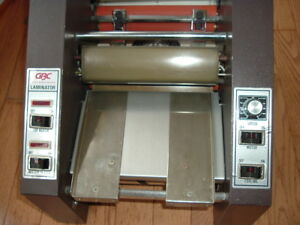 9 Hot Roll Laminator Gbc 522lm 1 Laminating Machine Good Us Made