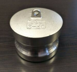 4 Inch Camlock Fitting Type Dp 316 Stainless Steel Camlock Dust Plug