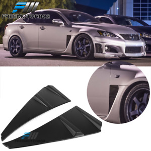 Fits 08 14 Lexus Is F Isf Novel Style Side Vent Ducts Fenders 2 Pcs Pp
