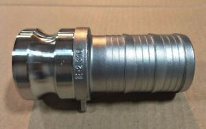 4 Type 400e Stainless Steel 316 Male Camlock X Hose Barb