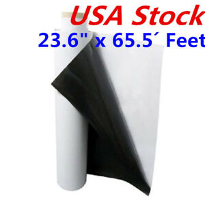 Usa 23 6 X 65 5 Feet Flexible Magnet Sheets With Self Adhesive Base Material