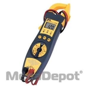 Ideal 61 704 4 In 1 True Rms Clamp Meter With Ncv Detector