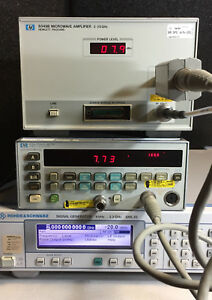 Agilent Hp 8349b Microwave Amplifier 2 20ghz