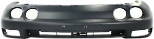 Front Bumper Cover For 94 97 Acura Integra W Fog Lamp Holes Primed