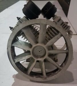 Jenny Emglo Air Compressor Pump Continuous Model Gc 2 groove Flywheel