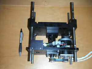 Linear Actuator W Stepper Motor Encoder Ball Screw And Limit Switches 4692