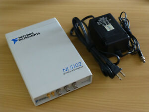 National Instruments Usb 5102 High speed Digitizer Ni Daq Scope
