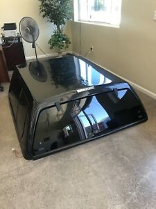 Leer Quality Camper Shell With All The Hardware Painted Black For 10 And Up F150