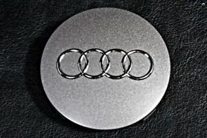 Genuine Audi Wheel Center Cap Alloy Hub Silver Oem x1 8t0601170