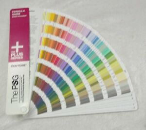 Pantone The Psg Formula Guide Solid Uncoated The Plus Series Used
