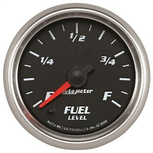 Autometer 19609 Pro Cycle Programmable Fuel Level Gauge
