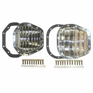 Ford Super Duty F 250 F 350 Excursion 4x4 Polish Aluminum Differential Cover Kit