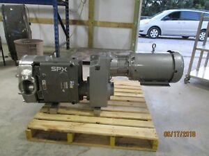 Waukesha Cherry burrell Spx Stainless Positive Displacement Pump Tested New