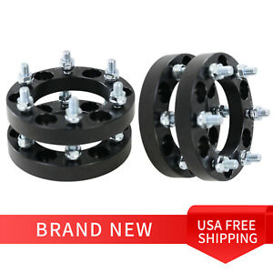 4pcs For Jeep 1 25 Inch Wheel Spacers Black Rubicon Wrangler 5 X 127mm Vehicle