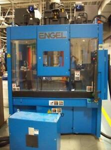 Engel In 500v90 Us 90 Ton 8 49 Oz Vertical Injection Molding Machine 10395