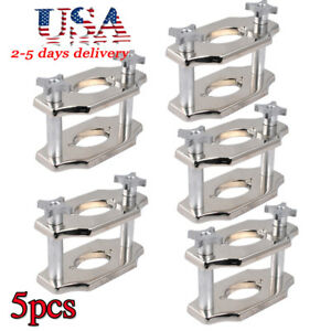 5pc Dental Presser Reline Jig Single Compress Press Equipment For Lab usa Ship