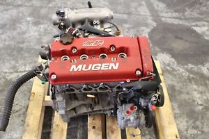 1999 2000 Honda Civic Si Em1 Oem Factory B1612 Engine Long Block Assembly 9219