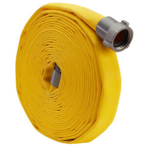 Yellow 1 X 50 Forestry Hose alum Npsh Couplings