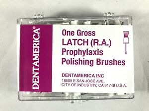 Dentamerica Dental Prophy Prophylaxis Polishing Brushes Latch