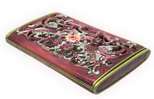 Business Card Holder With Swarovski Crystals By Rucinni