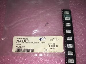 5 Piece Lot Jtx 2 10t Rf Transformer 75 50 To 1000 Mhz Surface Mount Rohs