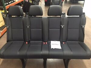 Mercedes Benz Sprinter 4 Person Bench Seat Cloth Or Leatherette