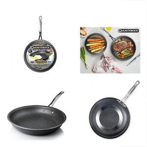 Graniterock Non stick All Pans No warp Mineral enforced Frying Pfoa free As On