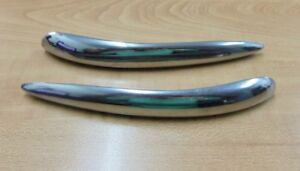 Nos 1953 1954 Chevrolet Stainless Trim At Top Of Quarter Panel Rock Guards