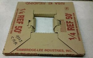 Cambridge lee Industries 1 4 Soft Copper Refrigeration Tube 50ft