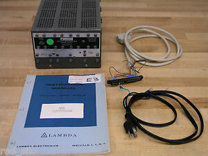 Lambda Lf 9 04 Programmable Variable Power Supply Max 49 95 Vdc 2 Amps