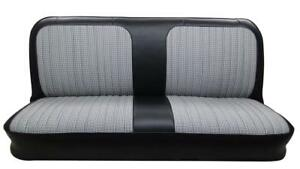 Chevrolet Pickup Seat Upholstery For Front Bench With Houndstooth 1967 1972